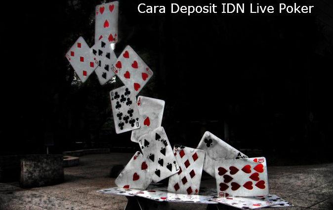 cara deposit IDNLive poker online