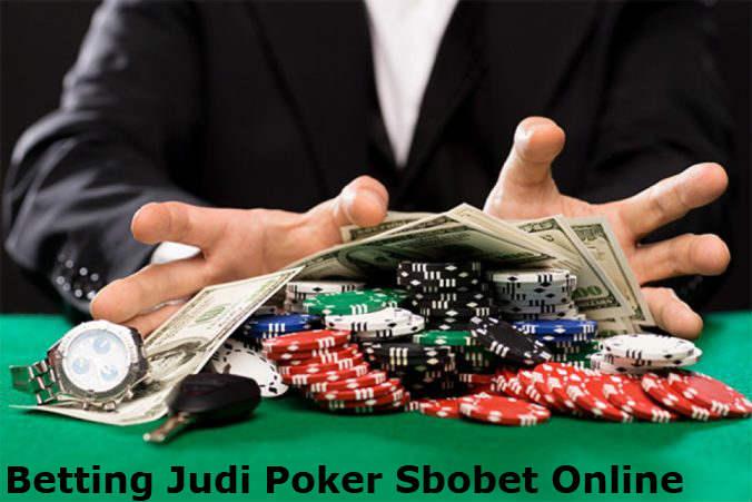 taruhan judi poker online sbobet